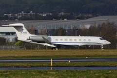 M-YSIX Gulfstream 650 EGPF 04-02-17 (MarkP51) Tags: mysix gulfstream 650 bizjet corporatejet glasgow airport gla egpf scotland aviation aircraft airplane plane image airliner markp51 nikon d7100 d7200 aviationphotography