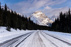 Ice on the Icefields Parkway (Kristin Repsher) Tags: alberta banff banffnationalpark canada canadianrockies d750 ice icefieldsparkway mountains nikon road roadtrip rockies rockymountains snow winter