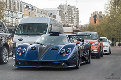 Traffic (Beyond Speed) Tags: pagani zonda mileson supercar supercars car cars carspotting nikon v12 blue carbon spoiler london knightsbridge hypercar