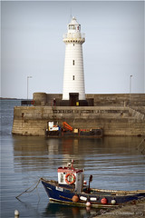 Donaghadee Lighthouse (dareangel_2000) Tags: dariacasement donaghadee lighthouse codown northernireland maritime naval harbour sun sea sand tide ocean pier
