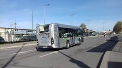 (Lacroix) Hourtoule réseau Plaine de Versailles Heuliez GX 137 DK-092-JZ (78) n°H312 (couvrat.sylvain) Tags: groupe lacroix hourtoule heuliezbus heuliez gx137 gx 137 plaine de versailles gare plaisirsgrignon plaisirs bus midibus autobus