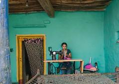 Girl (suresh31589) Tags: colours indha andhrapradesh andhra ghandikota door work house girl