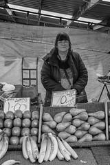 Bilston Market Fruit and Veg (Jemma Graham) Tags: documentary documentarygroup metro midlandmetroproject rps street portrait people blackandwhite xt2 fujifilm fujifilmxt2