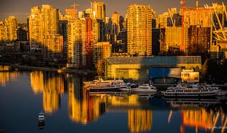 2017 - Vancouver - False Creek East Sunrise
