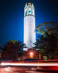 RED WHITE & BLUE (instagram: @ayegaem) Tags: sanfrancisco sf california coittower tower bayarea a7 a7ii