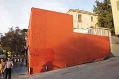 IMG_1711 (wtcamjr) Tags: berkeley ca shattuck avenue color burnt orange architecture composition diagonal
