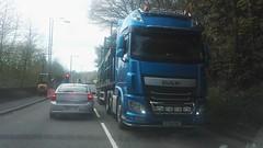 DAF Truck (Woolfie Hills) Tags: daf artic aberdulais