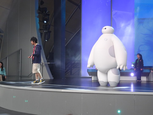 大白超酷活力秀 / Baymax Super Exercise Expo at Shanghai Disneyland / 上海迪士尼乐园