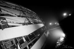 IFR (Tristan K.) Tags: fog smog mist myst blackwhite blackandwhite bw night mystic architecture building contrast ensma isae isaeensma engineering engineers chasseneuildupoitou futuroscope poitiers vienne