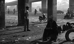 Lagos - Chaos & Hope (* Daniel *) Tags: olympus om2sp olympusom2spotprogram markdaniel markdanielphotocom om2spotprogram agfarodinal agfaagfapanapx100 agfaapx100 agfaphoto agfaphotoapx100 lagos nigeria westafrica film filmgrain grain 100asa bw blackwhite blackandwhite road candid candidstreetportrait street streetphotography streetphoto mono monochrome monotone rodinal filmdev:recipe=11344 film:brand=agfa film:name=agfaagfapanapx100 film:iso=100 developer:brand=agfa developer:name=agfarodinal
