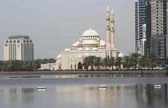 Al Noor Mosque (Wild Chroma) Tags: al noor mosque alnoormosque sharjah uae lake architecture minaret