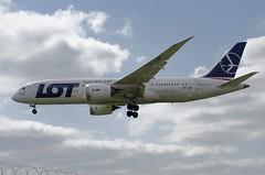 LOT - Polish Airlines Boeing 787-8 Dreamliner SP-LRF (n.ewa99) Tags: splrf dreamliner 787 7878 boeing boeing787 lot polishairlines franek plane airplane spotting