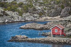 Fisherman's hut VII (Bjorn-Erik Skjoren) Tags: kuvauen fiskerhytte landskap hdr
