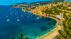 French Riviera Scenery (The Happy Traveller) Tags: frenchriviera villefranchesurmer france seascape sceniccoasts scenicdrives scenicroads mediterranean