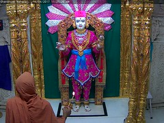 Ghanshyam Maharaj Rajbhog Darshan on Fri 14 Apr 2017 (bhujmandir) Tags: ghanshyam maharaj swaminarayan dev hari bhagvan bhagwan bhuj mandir temple daily darshan swami narayan rajbhog