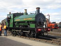 IMG_4782 - GWR Hudswell Clarke Saddle Tank 813 (SVREnthusiast) Tags: didcotrailwaycentre didcot railway centre gwrhudswellclarkesaddletank813 gwr hudswellclarke saddletank 813