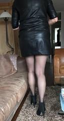 MyLeggyLady (RJT61) Tags: holdups stockings boots stilettos minidress leather legs heels