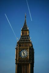 Elizabeth Tower (*Kicki*) Tags: elizabethtower bigben london clock tower sky blue gb england uk time greatbellofwestminster westminster greatclockofwestminster unitedkingdom clocktower building architecture