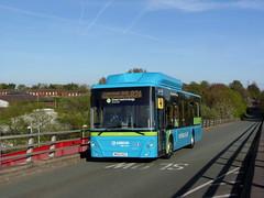 Arriva Merseyside 5001 Runcorn (re-posted) (transportofdelight) Tags: arriva merseyside 5001 mx62ksz runcorn