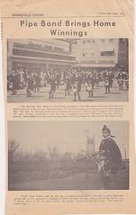 Stirling Pipe Band Pine Falls Newspaper Articles-1 (Hugh Peden) Tags: stirling pipe band pine falls manitoba major william bill macleod