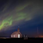 Northern lights - Budir, Iceland - Travel photography thumbnail