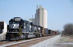 NS PR43C 4000-A55 (southernrailway7000) Tags: progressrailpr43c norfolksouthernrailroad nspr43c4000