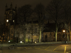 St Marys 20-2-17 (johnholme1) Tags: arcetecture floodlight nightscene stmarys stockport underbank winter uk
