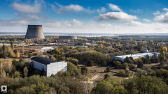 Chernobyl Cooling Towers (Homo Sovieticus) Tags: chernobyl pripyat cooling towers nuclear power plant