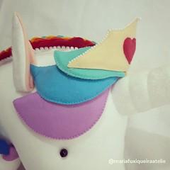 Unicórnio de Parede (mfuxiqueira) Tags: unicórnio decoraçãoinfantil decoração festainfantil festa decoraçãofesta arcoíris feltro felt unicorn