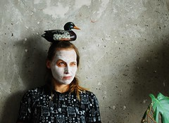 untitled by Rhabarberrabe - is it the duck on my head that makes me think like that?