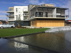 Social Housing from Norevi (bernawy hugues kossi huo) Tags: urban devellopement norevi social housing waterfall fountain foodcourt traditional modern village newplace downtown lesquin