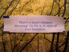 There's a secret romance blooming!
