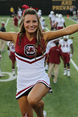 University Of South Carolina Cheerleader (Paul Robbins - BNA-Photo) Tags: cheerleaders southcarolina usc cheer cheerleader cheerleading usccheerleaders collegecheer cheerleadercollege southcarolinacheerleaders cheercollege