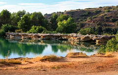 IMG_2071 Lagoon Ruidera No 3 - Seen On Explore - 2014-09-23 # 13 (jaro-es) Tags: españa nature canon landscape spain natur natura lagoon explore laguna landschaft spanien lagunas naturesfinest spanelsko naturewatcher eos70d naturemaster
