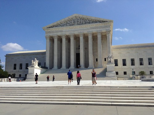 The Supreme Court--how it looms over us!