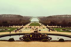 Versailles (smandeix) Tags: sky cloud paris france castle nikon versailles chateau fontaine d3100