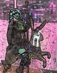 Lori and the Lepus (Marc-Anthony Macon) Tags: art folkart outsiderart surrealism dada dadaism dadaist artfaggotry artistsonflickr