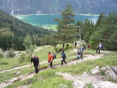 P1080998 (alpenverein.terenten) Tags: avs wanderung achensee adlerhorst
