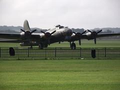 Boeing B-17 FLying Fortress 'Sally B' Duxford 21-09-2014.1 (routemaster2217) Tags: duxford imperialwarmuseum iwm showbus2014
