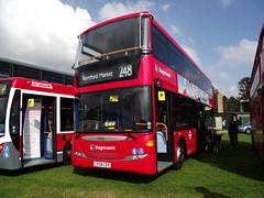 LX58CDV (Stagecoach London 15001) 21-09-2014 Duxford Showbus (routemaster2217) Tags: duxford imperialwarmuseum iwm showbus2014