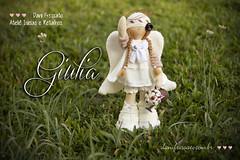 Anjinha Giulia (Dani_Fressato) Tags: doll artesanato craft boneca tecido trabalhomanual ideias retalhos anjinha patchwor danifressato