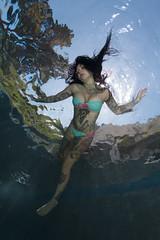 Cara Mia Mermaid 2 (kozyndan) Tags: california pool tattoo swim ink model underwater tattoos bikini skinnydipping inked palosverdes caramia inkedmodel