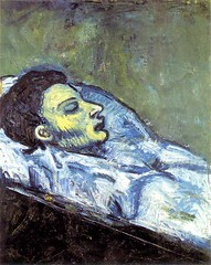 [ P ] Pablo Picasso - La mort de-Casagemas (1901)