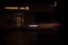 Z ankapfel (AxelN) Tags: auto light broken car night advertising deutschland licht nacht bank atnight commerzbank herrenberg nachts kaputt badenwrttemberg kunstlicht leuchtreklame