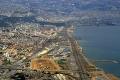 Algiers, aerial view of the bay & port 06-06-2014. (Nabil Molinari Photography) Tags: algérie azur alg algiers alger aigle daag