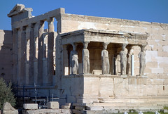 South porch, the Erechtheion