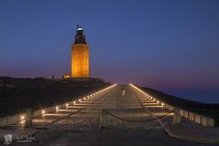 Torre de Hrcules - Patrimonio de la Humanidad (Chencho Mendoza) Tags: espaa nikon galicia acorua humanidad torredehrcules d610 patriomonio chenchomendoza
