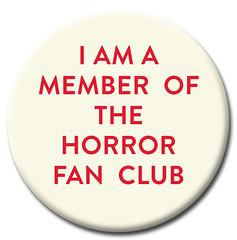 Moon Monster Horror Fan Club Badge