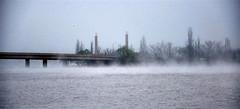 Misty City (Heaven27) Tags: bridge water weather fog australia canberra