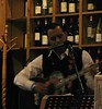 Clarence played my favorite guitar of his that evening (debstromquist) Tags: friends illinois restaurants il westernsprings singersongwriter winestores canonpowershotsx110is clarencegoodman mécénatbistroandgatheringplace